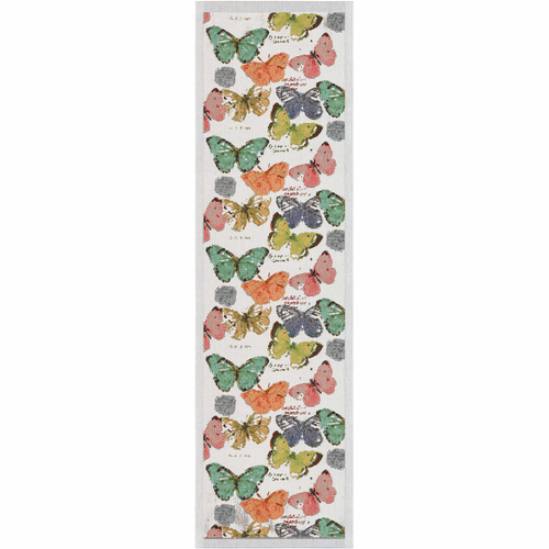 Fjarilar Table Runner, 14 x 47 inches