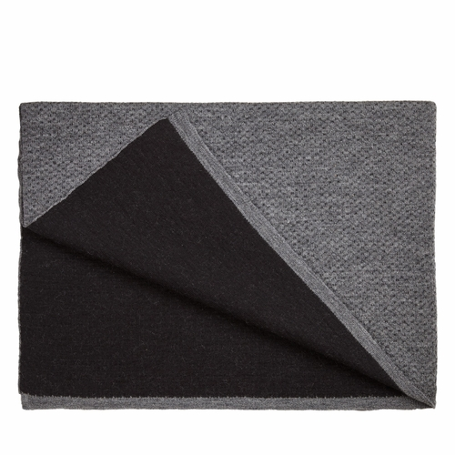 Flecked Throw, Grey/Black (Only 2 Left)