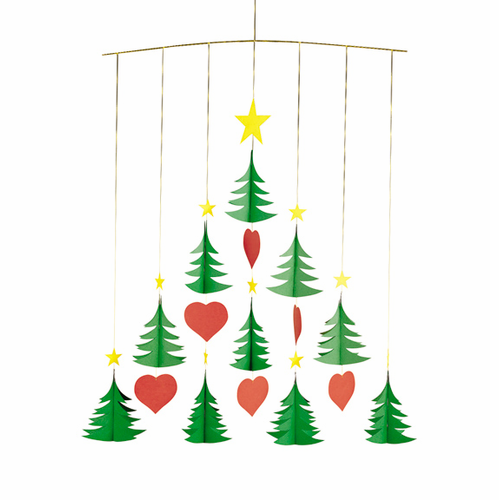 Flensted Christmas Trees 10 Mobile