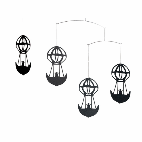 Flensted H.C. Andersen'S Balloons, Black Mobile