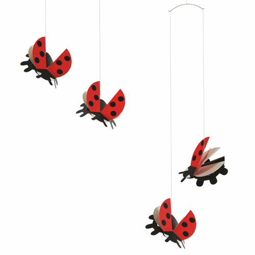 Flensted Ladybird Mobile
