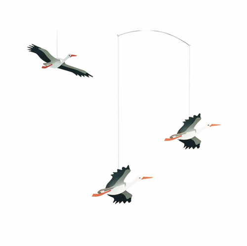 Flensted Lucky Storks Mobile