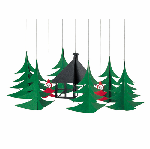 Flensted Pixies In The Christmas Forest Mobile