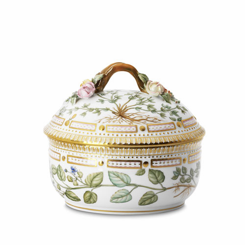 Flora Danica Sugar Bowl with Cover