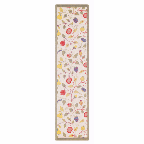 Ekelund Weavers Floral Table Runner, 14 x 55 inches