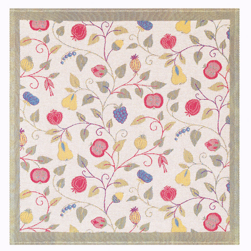 Ekelund Weavers Floral Table Square, 57 x 57 inches