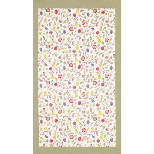Ekelund Weavers Floral Tablecloth, 57 x 122 inches