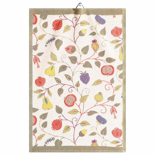 Ekelund Weavers Floral Tea Towel, 14 x 20 inches