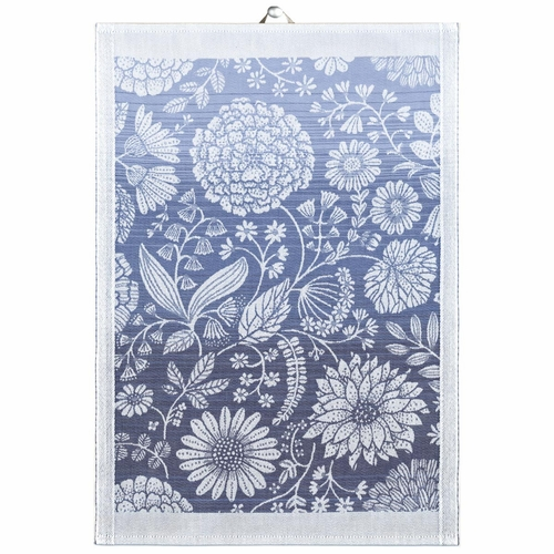 Ekelund Weavers Flytande Bla Tea Towel, 14 x 20 inches