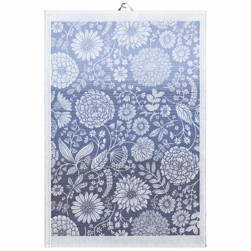Flytande Bla Tea Towel, 19 x 28 inches
