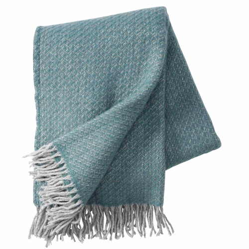 Fogg Brushed Gotland & Lambs Wool Throw, Cactus