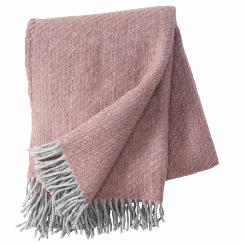Fogg Brushed Gotland & Lambs Wool Throw, Nude