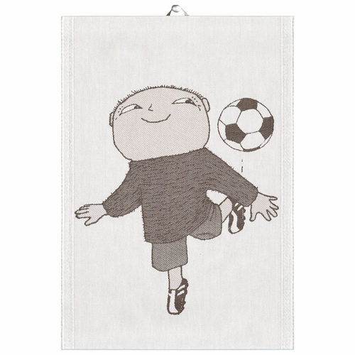 Fotboll Tea Towel, 14 x 20 inches
