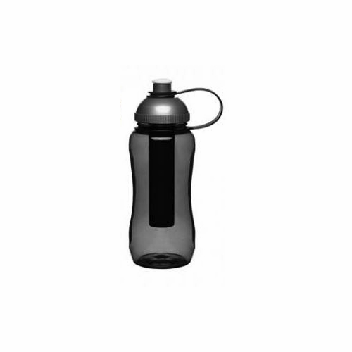 Fresh Water Bottle with Ice Piston, Grey