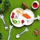 Gense Children's 4 Piece Animal Friends Flatware Set