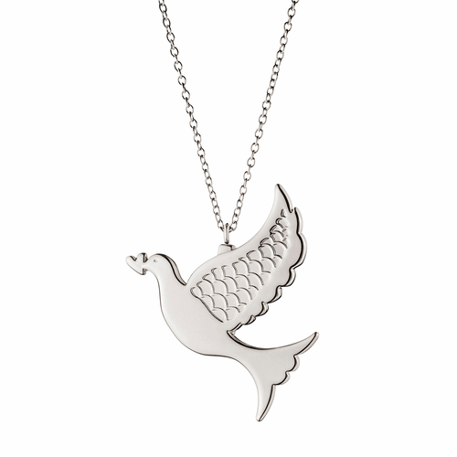 Georg Jensen 2014 Holiday Ornament, Dove (Palladium)