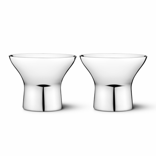 Georg Jensen Alfredo Egg Cups, Set of 2