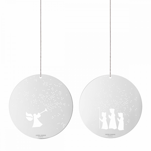 Georg Jensen Angel and Wise Men Ornaments
