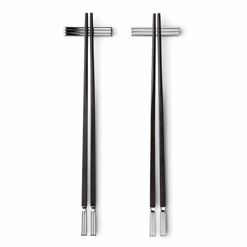 Georg Jensen Bernadotte Chopsticks, Set of 2