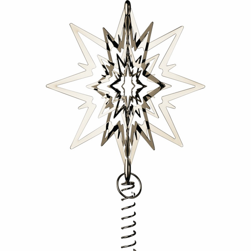 Georg Jensen Christmas Tree Starburst, Large (Palladium)