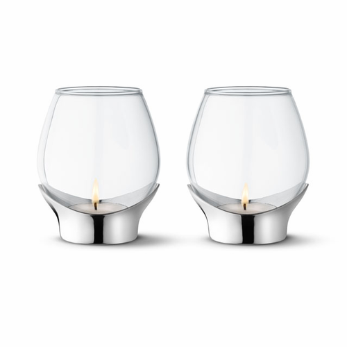Georg Jensen Grace Tealights—set of two - SOLD OUT