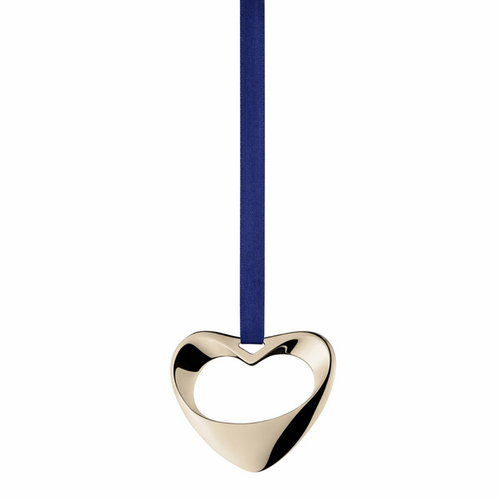 Georg Jensen Henning Koppel Ornament Heart White Gold