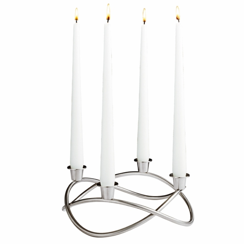 Georg Jensen Season Candleholder, Matte Finish
