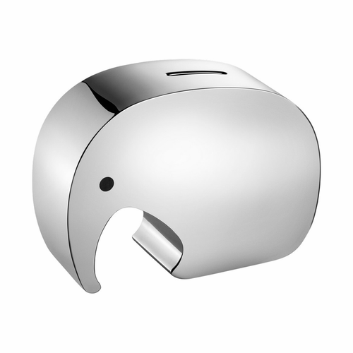 Georg Jensen Stainless Steel Moneyphant