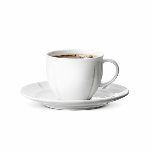 Grand Cru Soft Coffee Cup And Saucer, 9.5 oz.