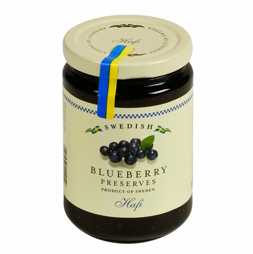 Hafi Swedish Preserves, Blueberry