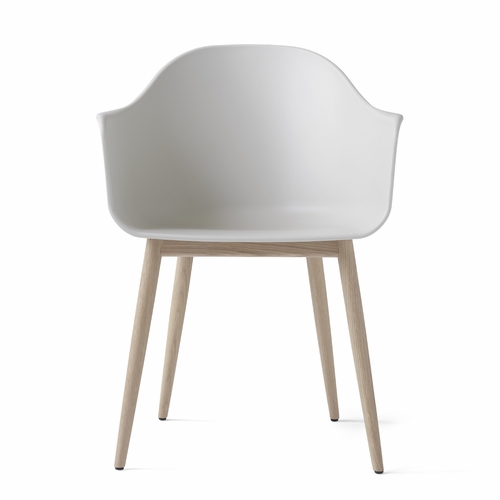 Menu Harbour Chair, White/Natural Oak Base