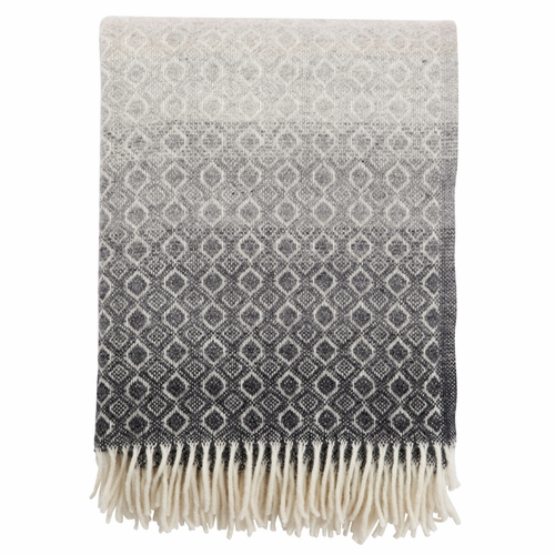 Havanna Brushed Lambs Wool Throw, Natural
