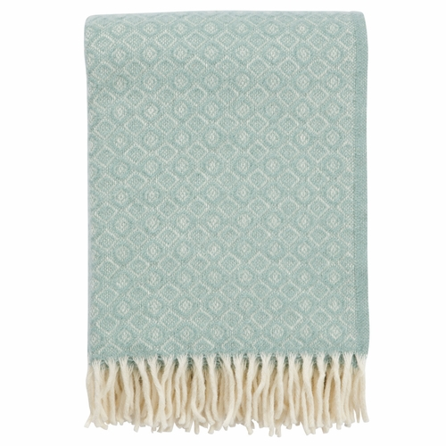 Havanna Brushed Lambs Wool Throw, Turquoise