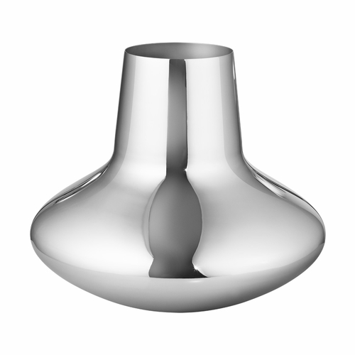 Georg Jensen Henning Koppel Vase, Polished Stainless Steel - Large
