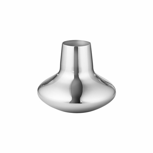 Georg Jensen Henning Koppel Vase, Polished Stainless Steel - Small