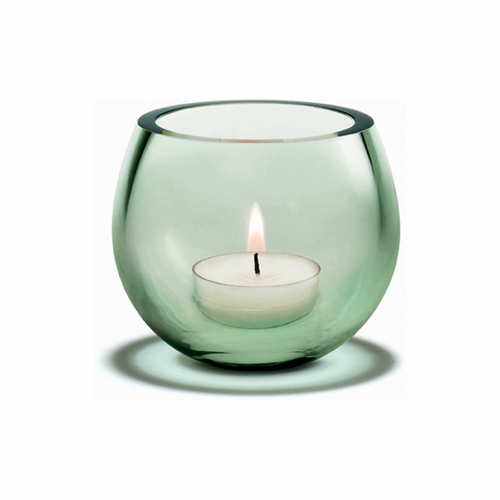 Holmegaard Cocoon Tealight Evergreen (3 in. H)