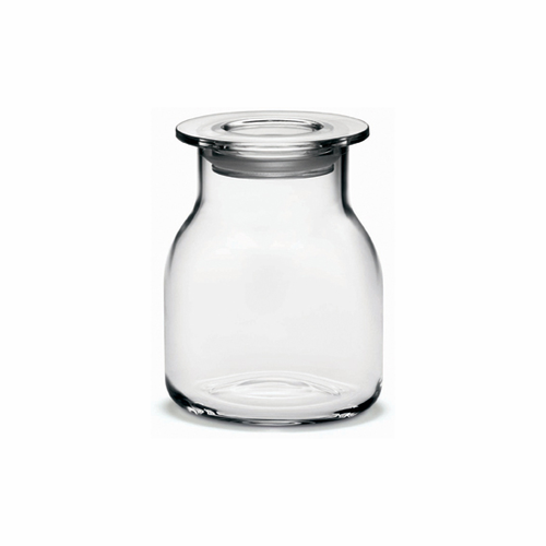 Holmegaard Minima Bottle With Lid Clear (5.1 oz.)