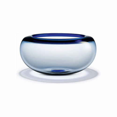 Holmegaard Provence Bowl Blue (12.2 in. Dia)