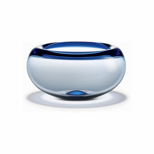Holmegaard Provence Bowl Blue (4.1 in. H x 7.5 in. Dia.)