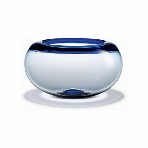 Holmegaard Provence Bowl Blue (5.9 in. H x 10.3 in. Dia.)
