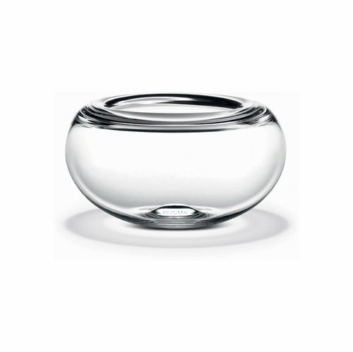 Holmegaard Provence Bowl Clear (4.5 in. H x 7.6 in. Dia.)