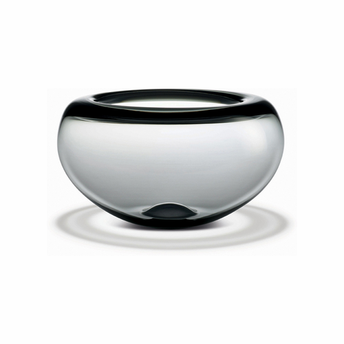 Holmegaard Provence Bowl Smoke (4.1 in. H x 7.2 in. Dia.)