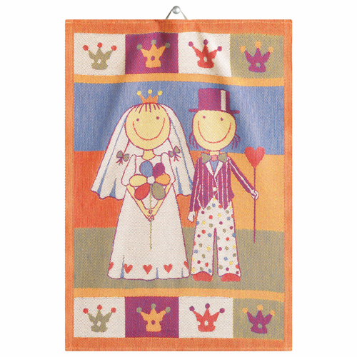 Honeymoon Tea Towel, 14 x 20 inches