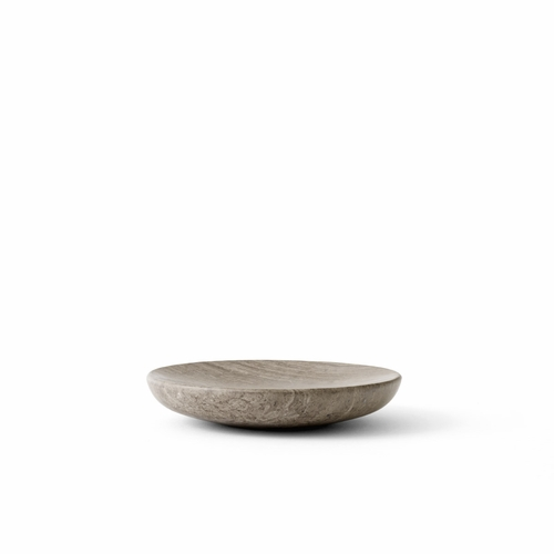 Hover, Bowl, Small, Honed Brown Marble