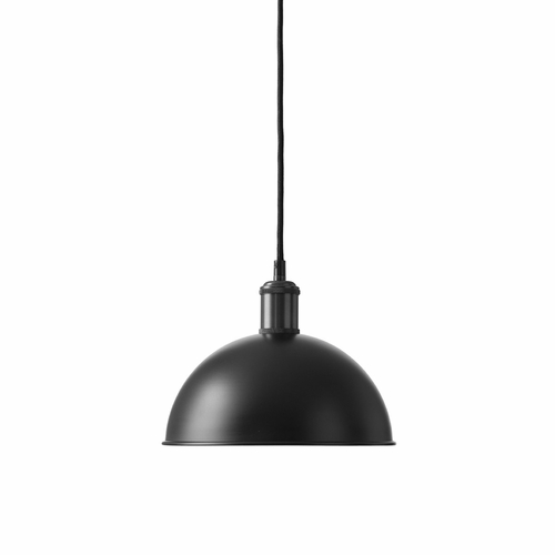 Hubert Pendant, Black/Bronzed Brass