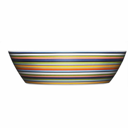 iittala Origo Orange Serving Bowl - Finland
