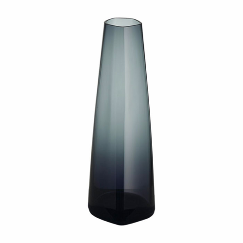 Iittala X Issey Miyake Vase, Glass - Dark Gray or Clear