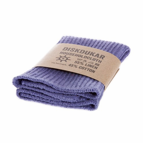 Iris Hantverk Household Cloth in Violet