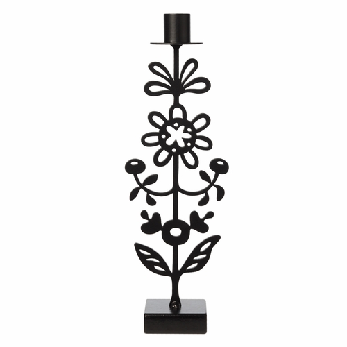 Iron Floral Buds Candle Holder