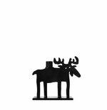 Iron Moose Candle Holder, Small